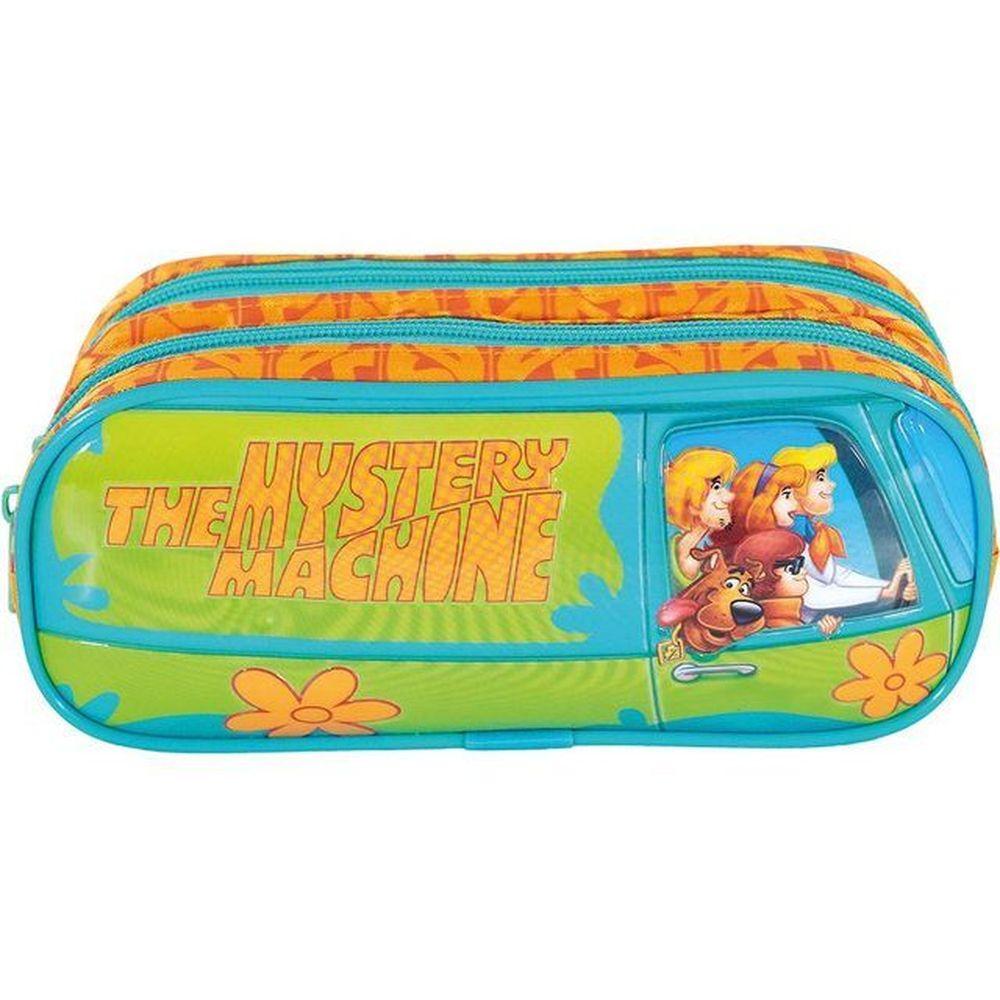 Estojo 2 Divisoria Scooby Doo Mystery Machine Xeryus