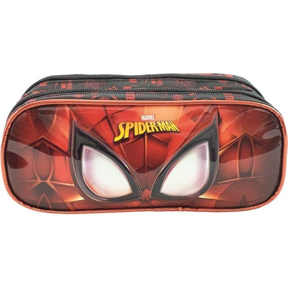 Estojo 2 Divisorias Spider Man Masked Xeryus