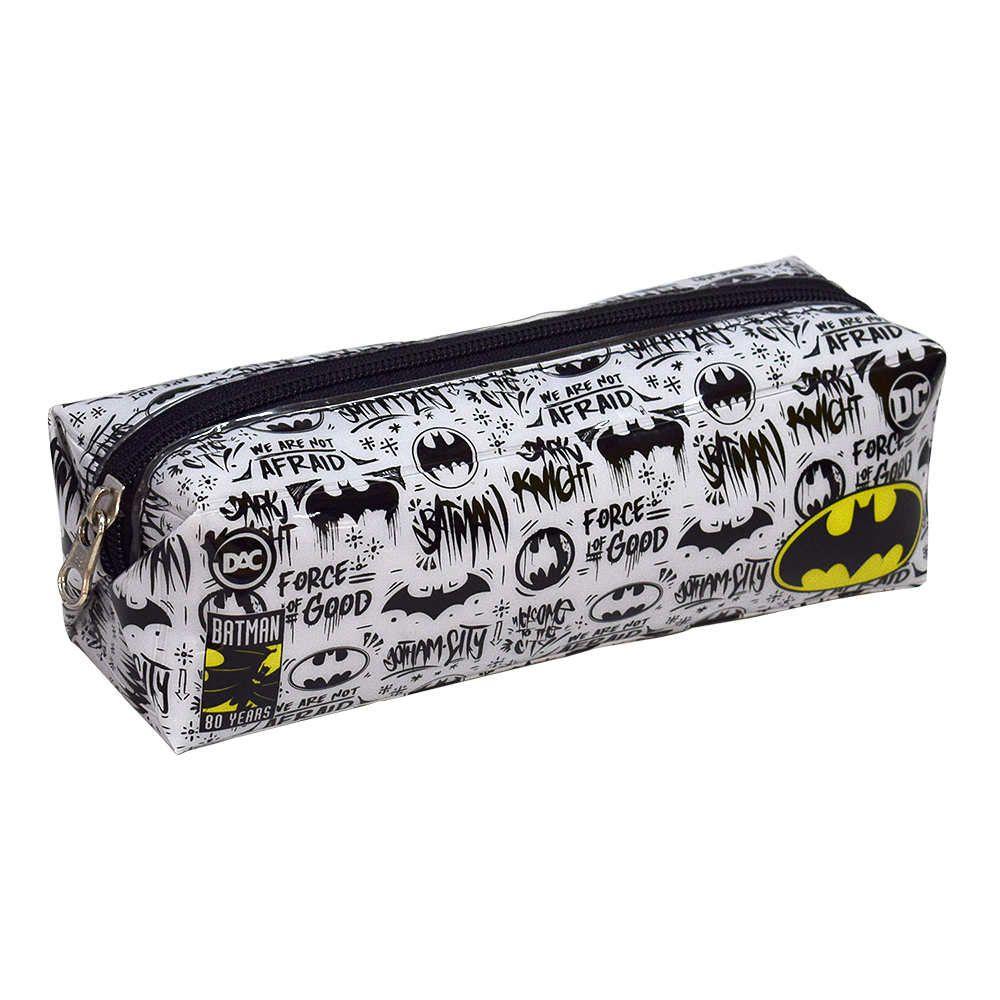 Estojo Escolar 1 Divisoria Batman Dac