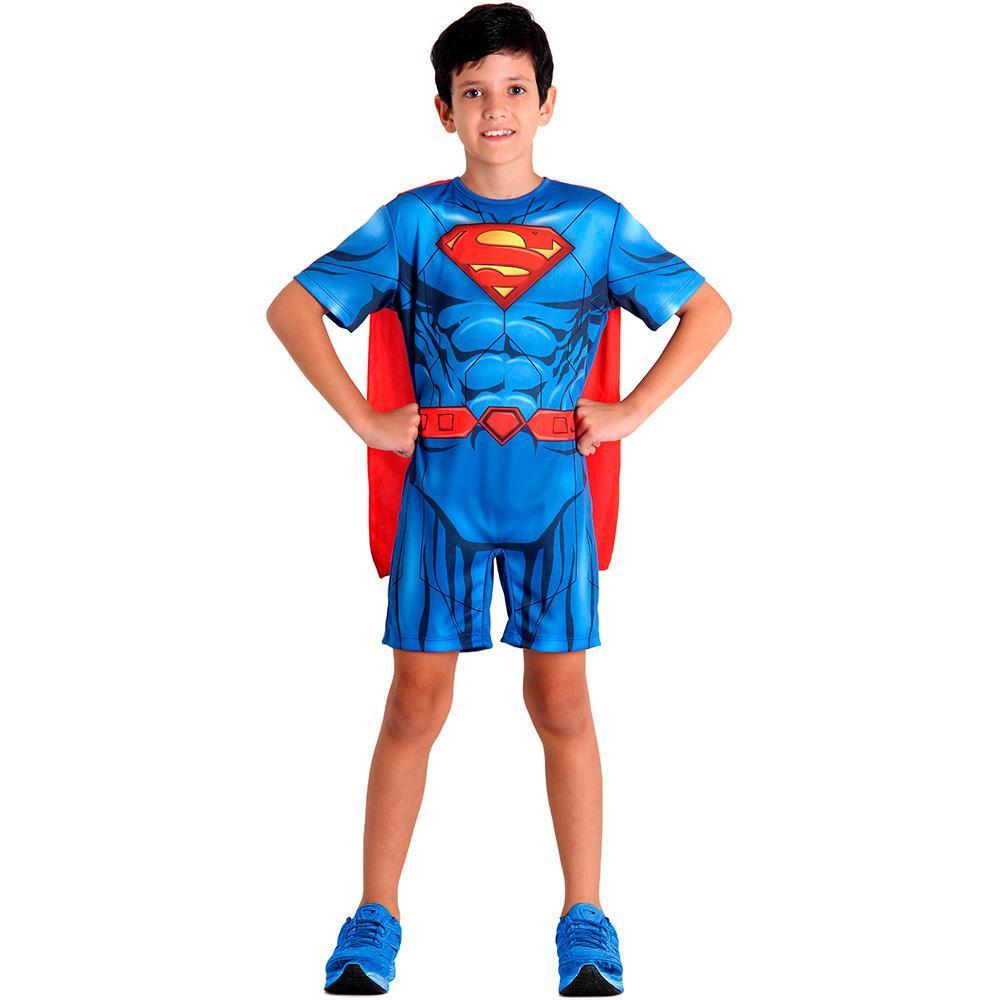 Fantasia Infantil Super Homem Pop Dc - Sulamericana