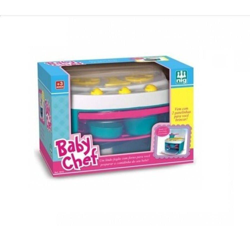 Fogão Baby Chef Nig Brinquedos