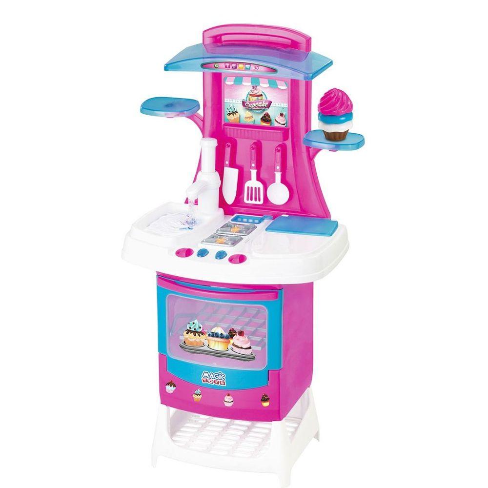 Fogao Cozinha Cupcake Magic Toys
