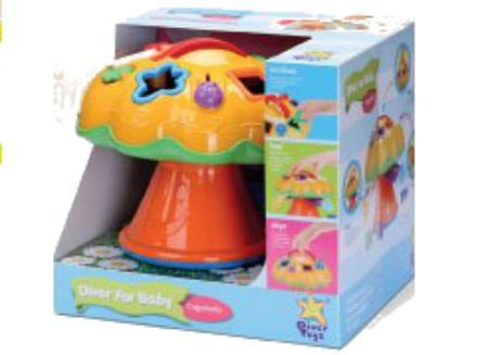 For Baby Cogumelo Diver Toys