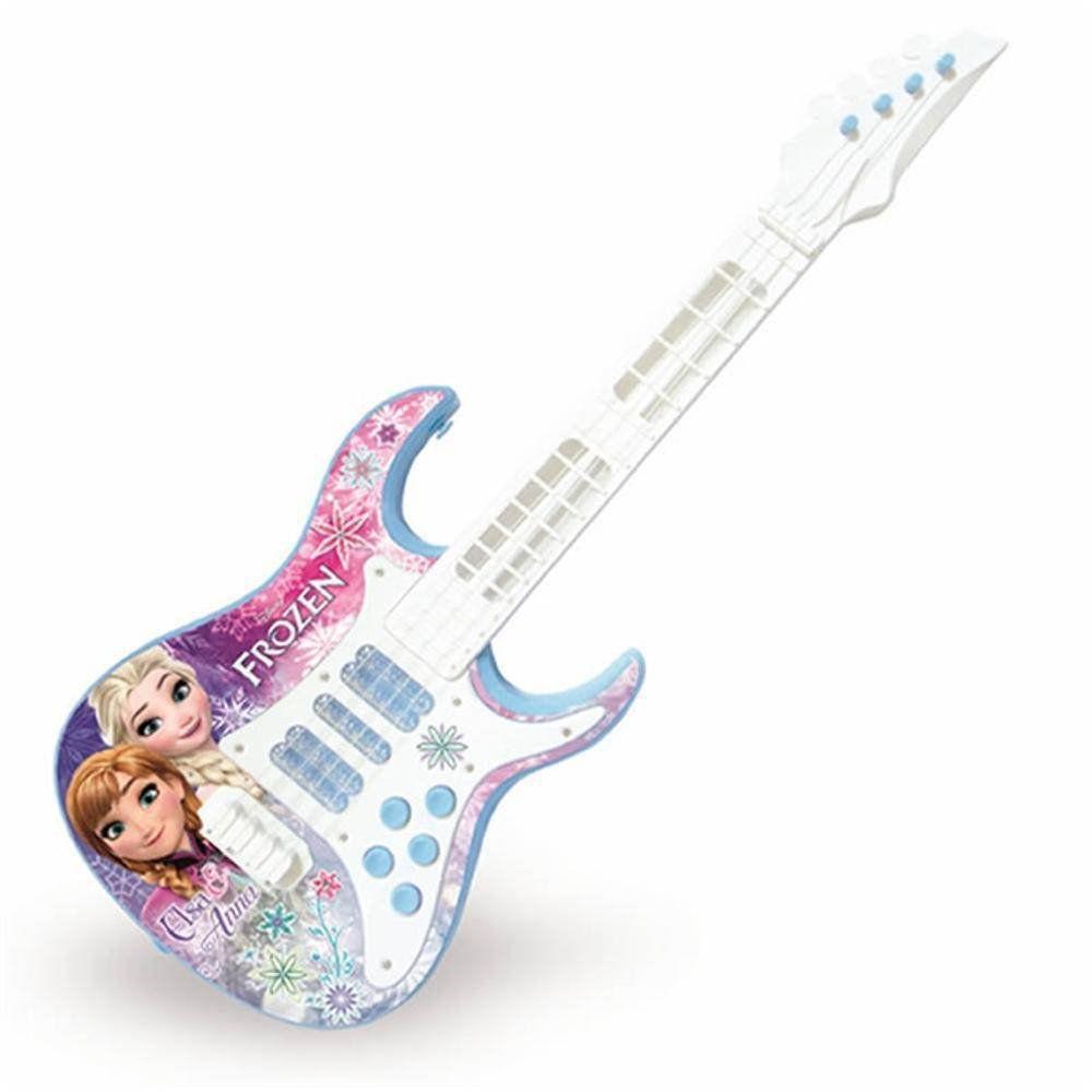 Guitarra Infantil Eletrica Frozen Toyng