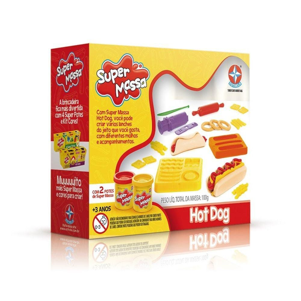 Hot Dog - Super Massa - Estrela