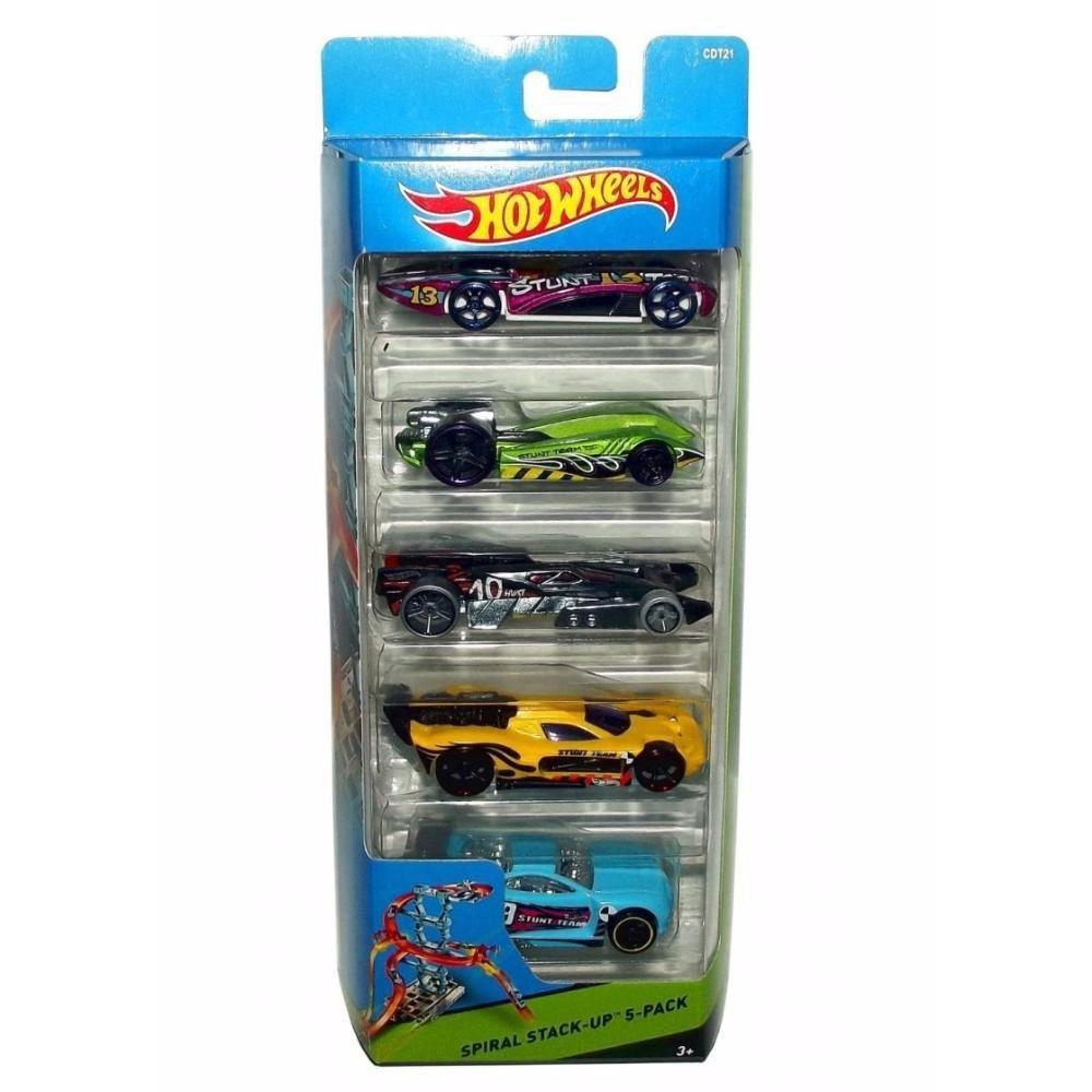 Hot Wheels Carrinho Conj 5 Mattel