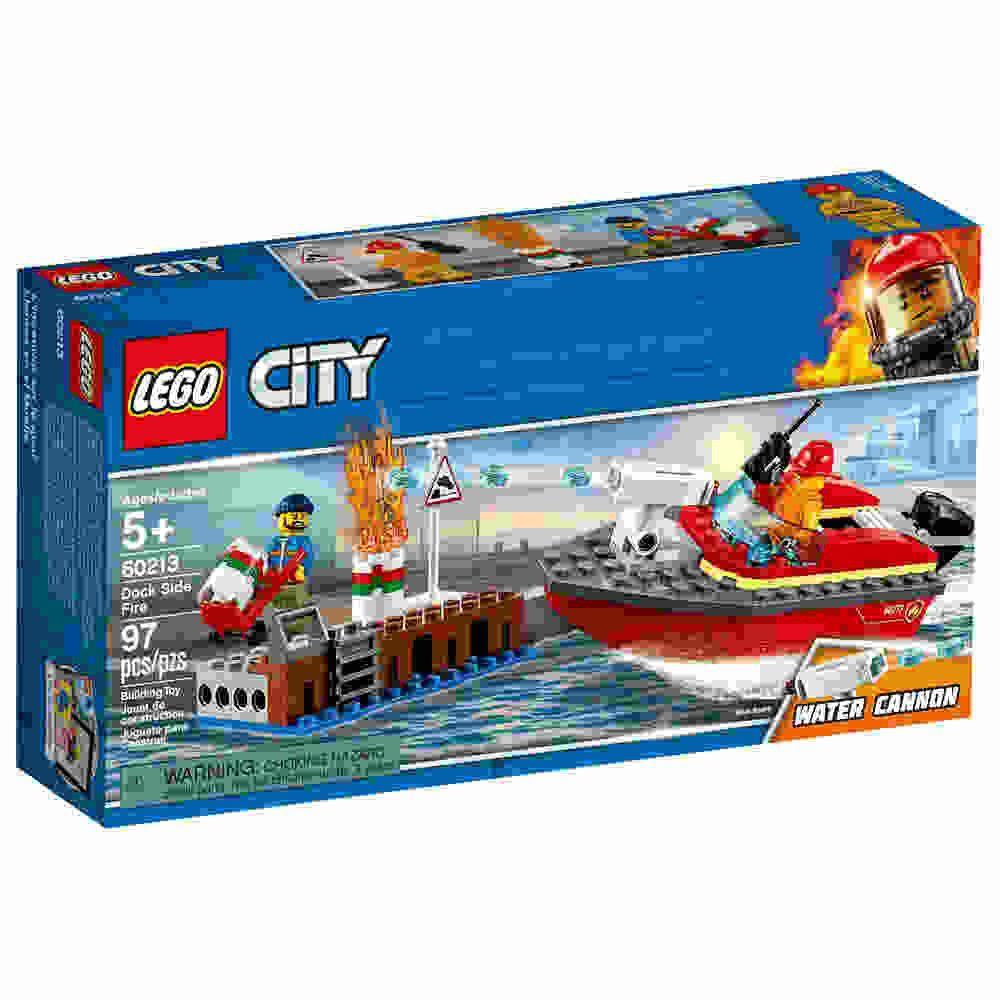 Incendio Na Doca 97 Peças Lego