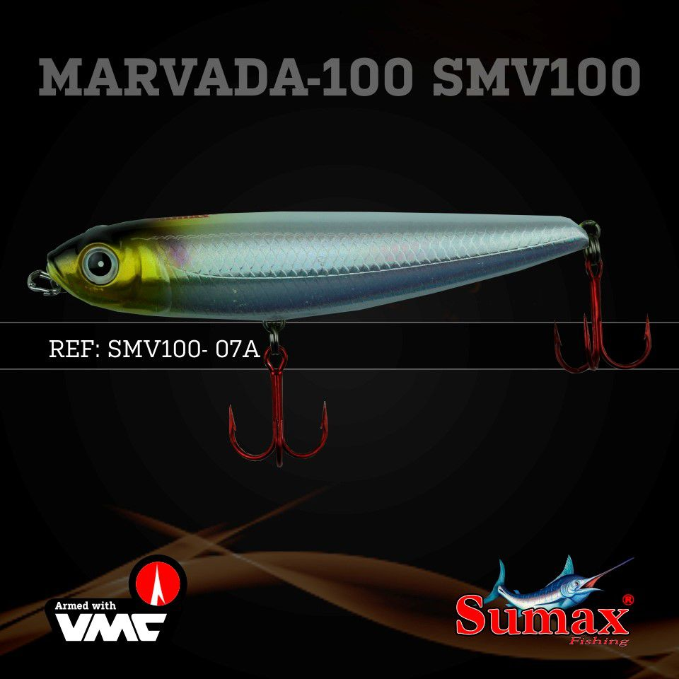 Isca Artificial Marvada 100 15g Cor 07A Sumax