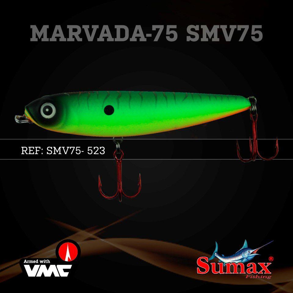 Isca Artificial Marvada 75 9g Cor 523 Sumax