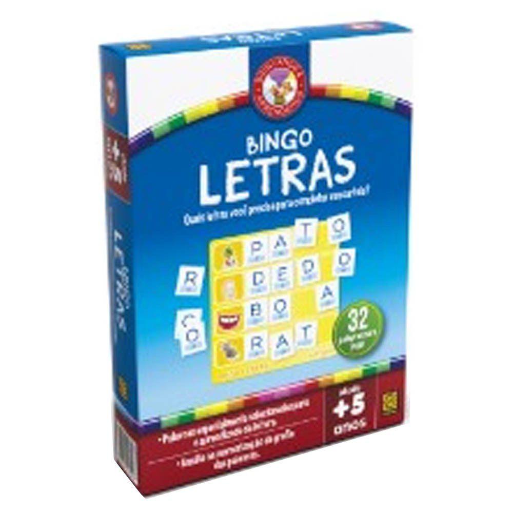 Jogo Bingo Letras Grow