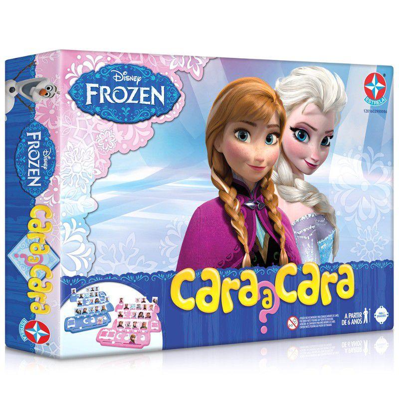 Jogo Cara A Cara Frozen Estrela