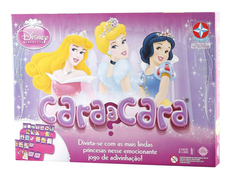 Jogo Cara A Cara Princesas Estrela