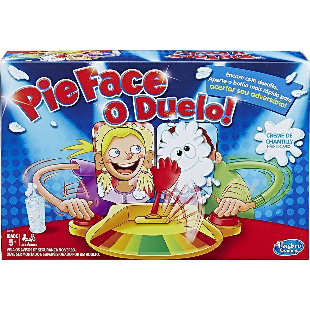 Jogo Pie Face O Duelo Hasbro