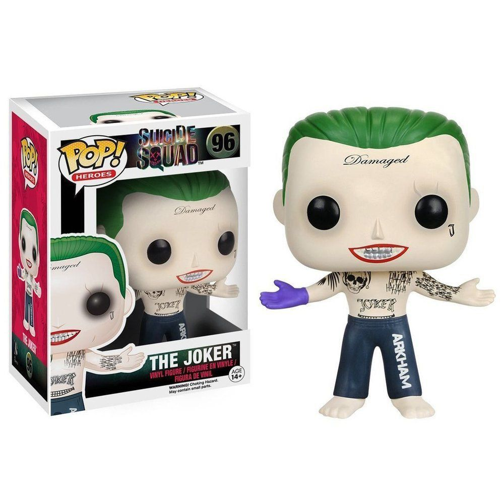 Joker Coringa Funko Pop Dc Comics Esquadrão Suicida