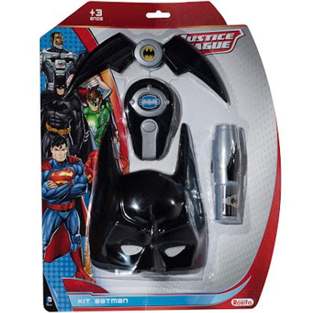 Kit Liga Da Justica Batman Rosita