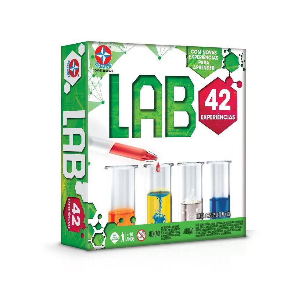 Lab 42 Kit De Experiências Estrela