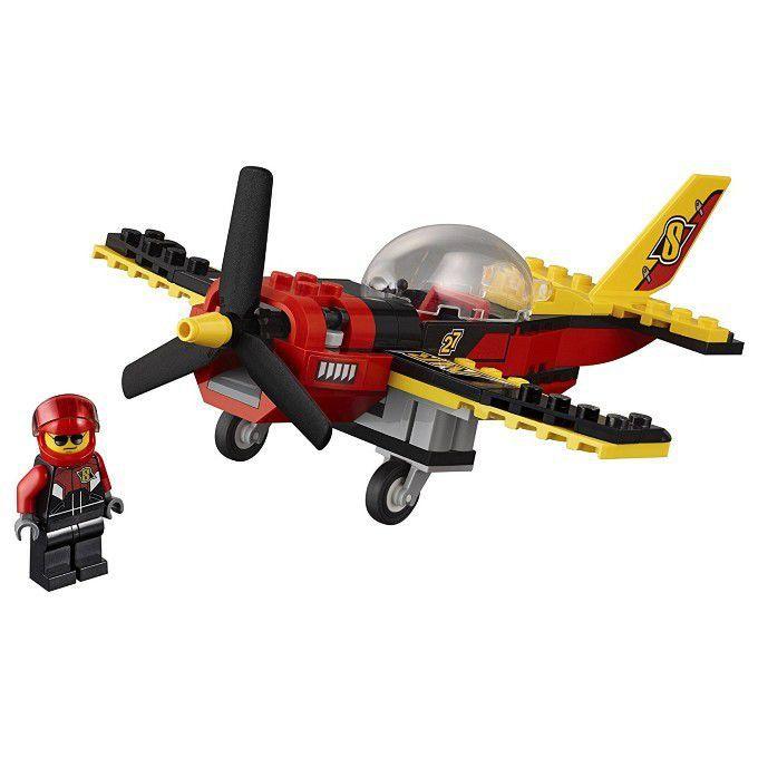 Lego 60144 Avião De Corrida Lego City