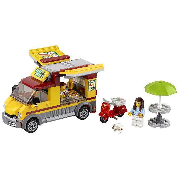 Lego 60150 Van De Entrega De Pizzas Lego City