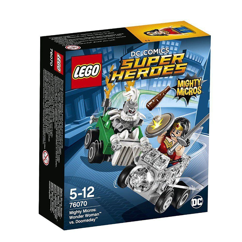 Lego Super Heroes 76070 Poderosos Micros Mulher Maravilha Contra Apocalypse Lego