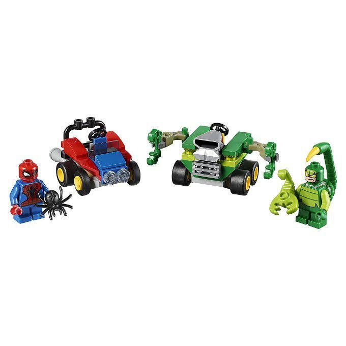 Lego Super Heroes 76071 Poderosos Micros Homem Aranha Contra Escorpião Lego