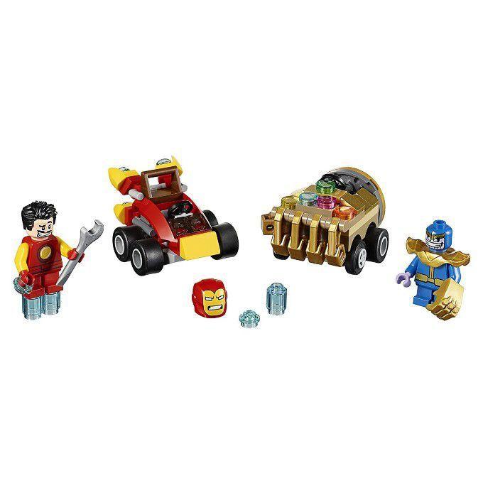 Lego Super Heroes 76072 Poderosos Micros Homem De Ferro Contra Thanos Lego