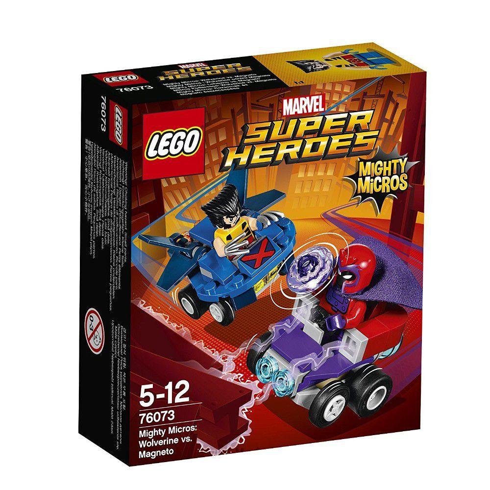 Lego Super Heroes 76073 Poderosos Micros Wolverine Contra Magneto Lego