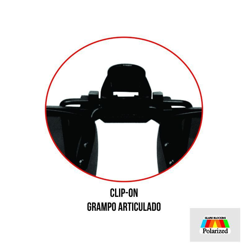Lentes Clip-On Marine Sports Polarizado Ms-0188