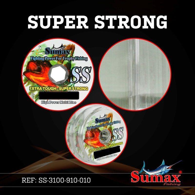 Linha De Pesca 100 Metros 0.30 0.35 0.40 0.45 Super Strong Sumax 0.35mm - 20lbs