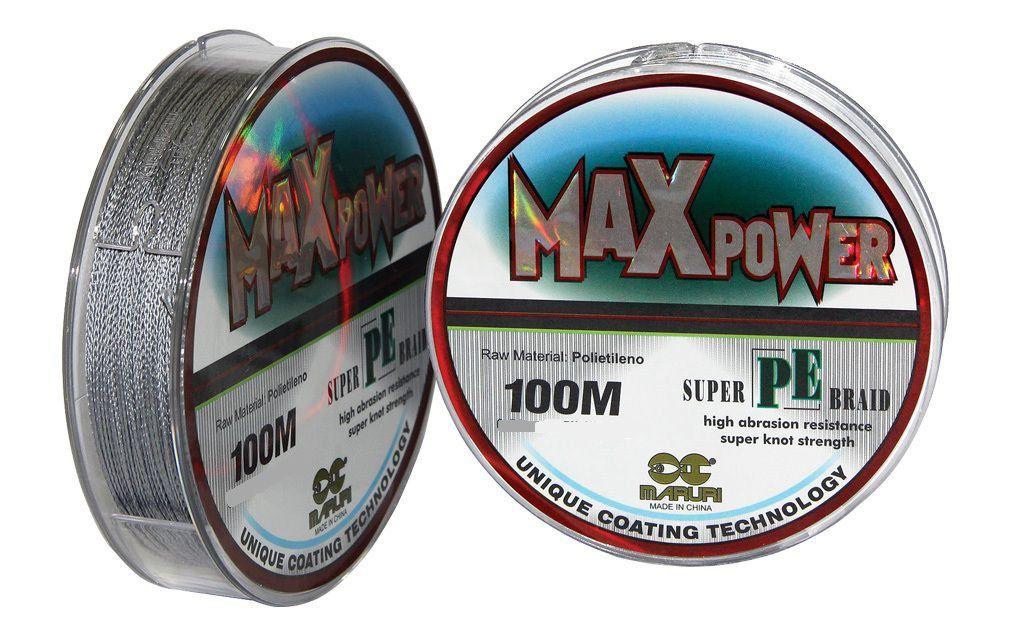 Linha De Pesca Max Power 0.40mm 53lb 100 Metros Maruri