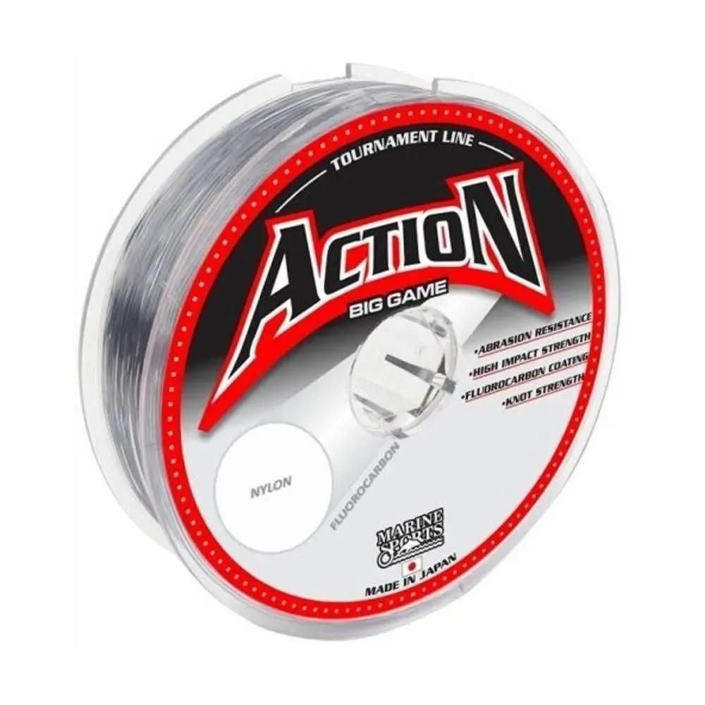 Linha Monofilamento Action 100 Metros 0.225mm Marine Sports