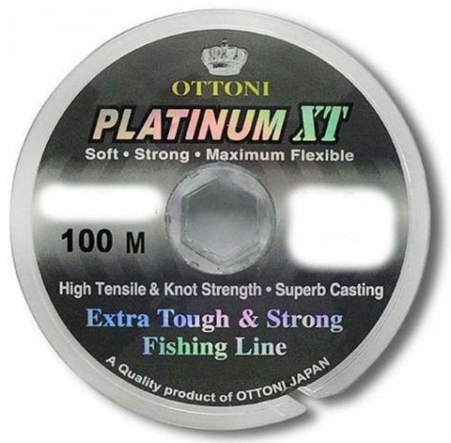 Linha Monofilamento Platinum XT 100m 35mm Ottoni