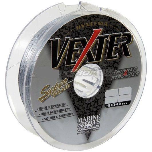Linha Pesca Vexter Multifilamento 0,25mm 25lb Ou 0,29mm 40 Lb 100m Marine Sports 0,29mm 40 Lbs