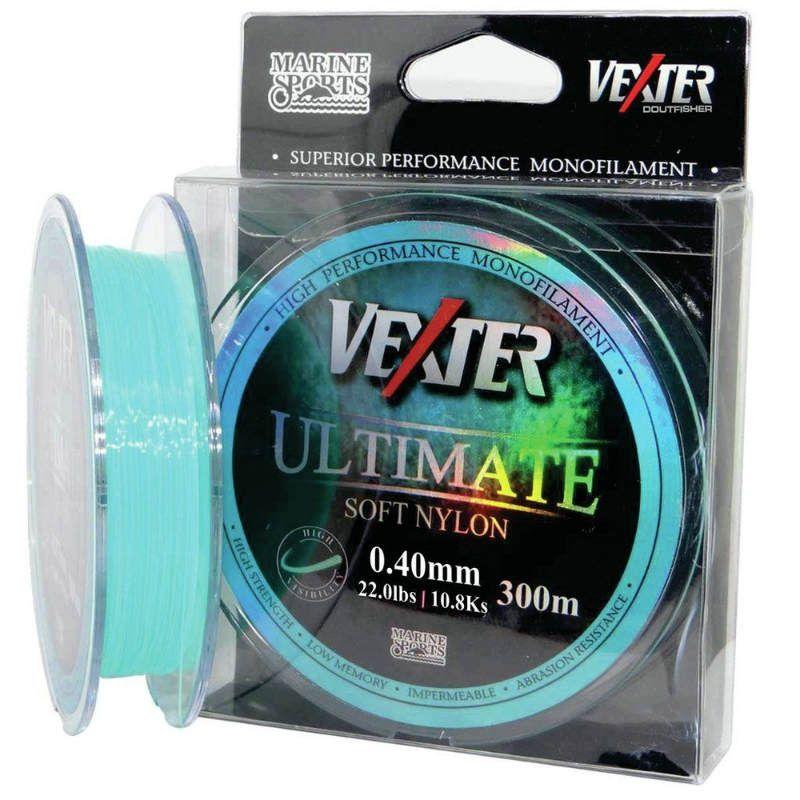 Linha Soft Vexter Ultimate 300 Metros 0.40mm Azul Marine Sports