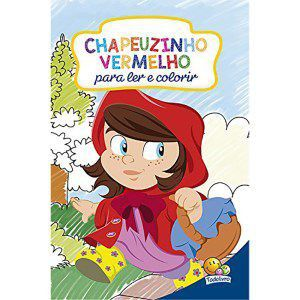 Livro Classicos Para Colorir Chapeuzinho Vermelho Todo Livro