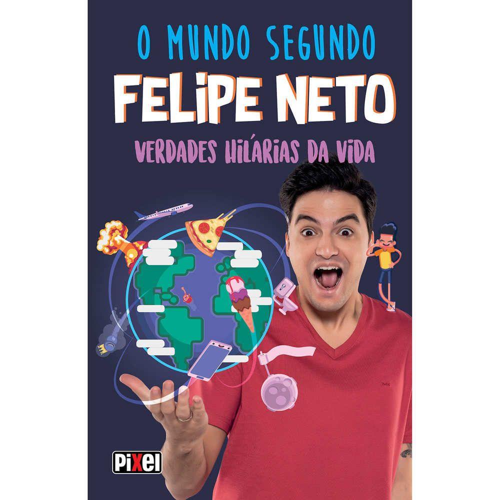 Livro o Mundo Segundo Felipe Neto Pixel