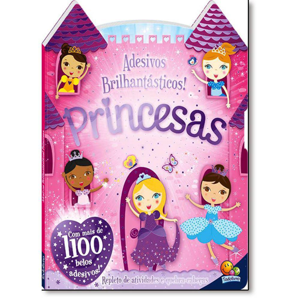 Livro Princesas - Col. Adesivos Todolivro