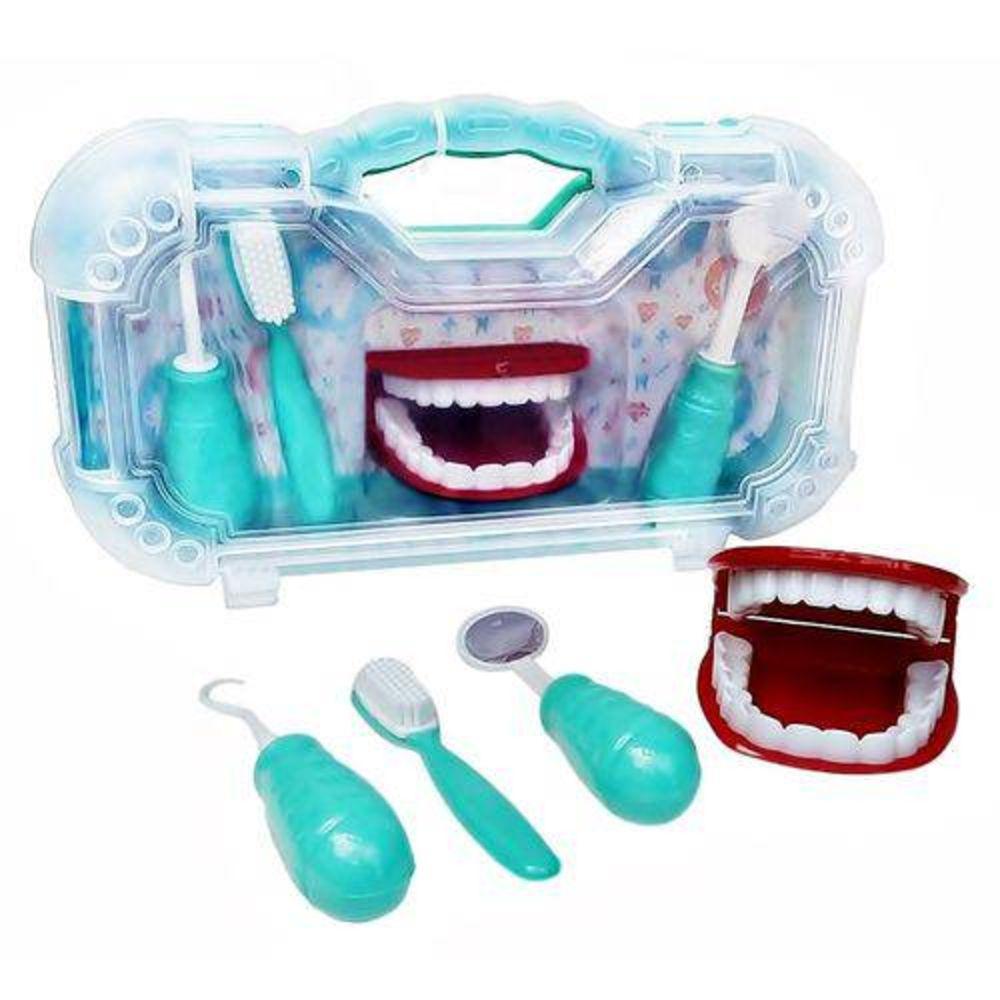 Maleta Dentista Com 4 Peças Art Brink