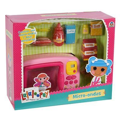 Microondas Infantil Lalaloopsy Som E Luz Braskit