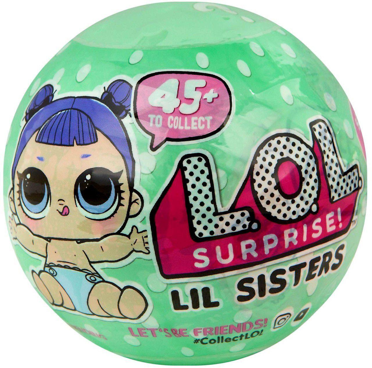 Mini Boneca L.O.L Lol Lil Sisters Série 2 Candide