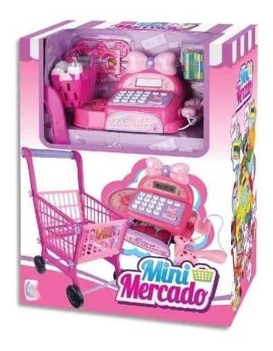 Mini Mercado Cm-237 Rosa Fênix