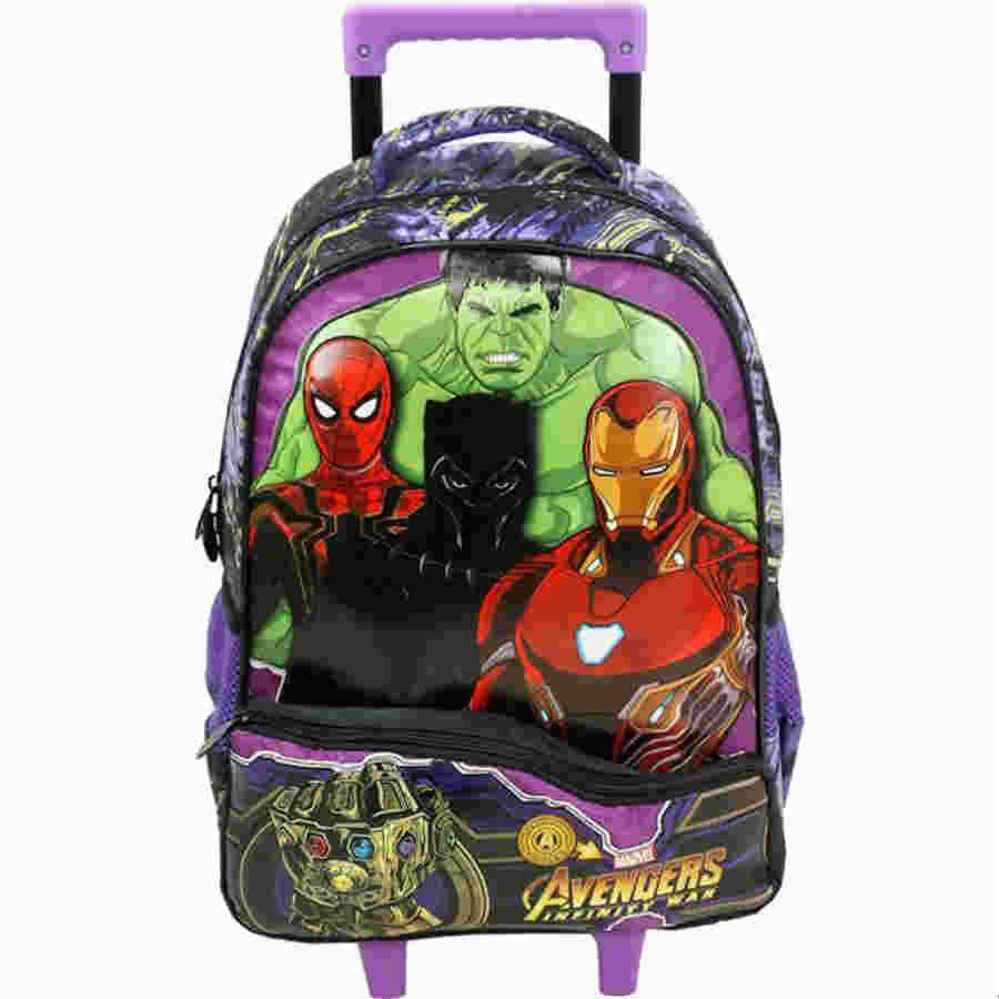 Mochila Carrinho 14 Avengers Infinity Light Xeryus