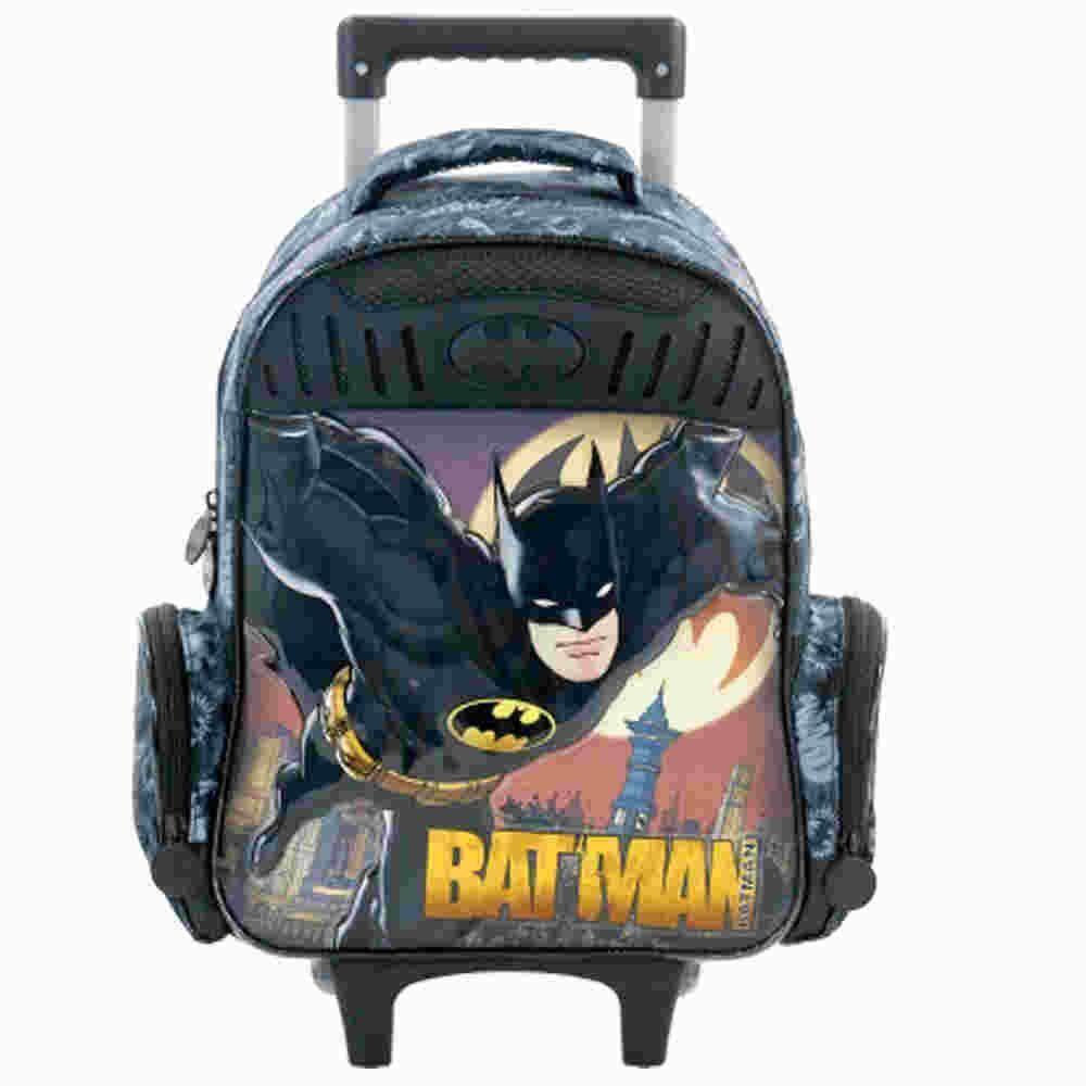 Mochila Carrinho 16 Batman Gothan Guardian Xeryus