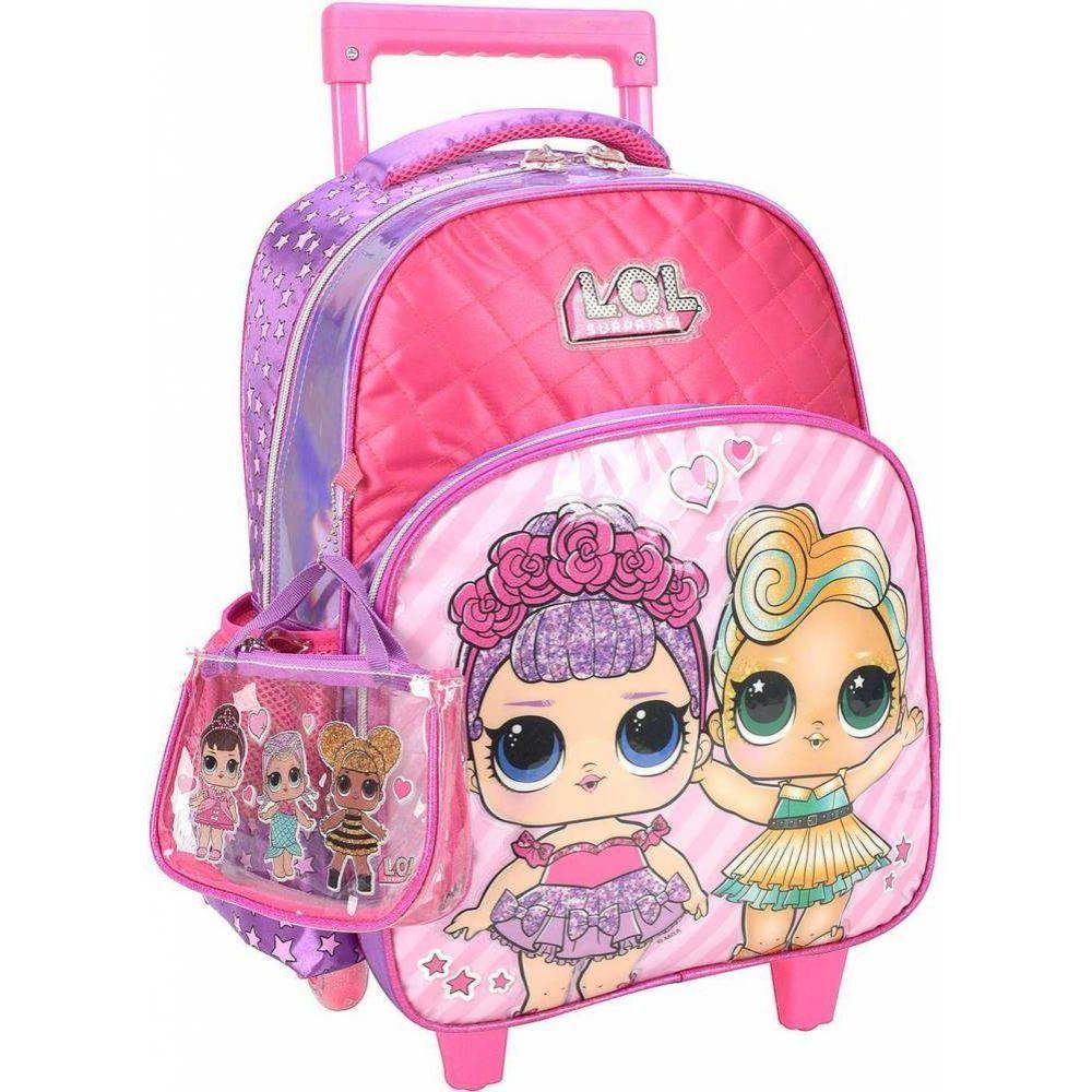 Mochila Carrinho 34614 Lol Pink Luxcel
