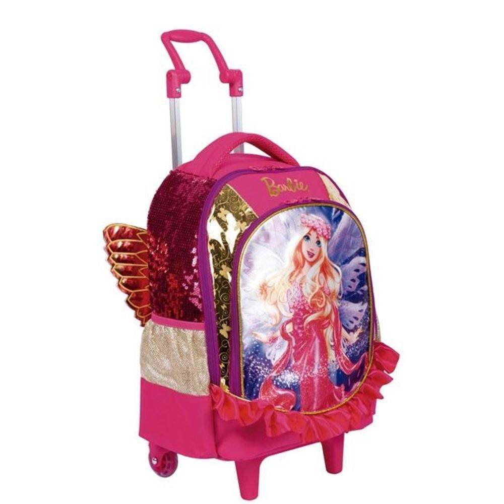 Mochila Com Rodinhas Grande Dreamtopia Barbie Sestini