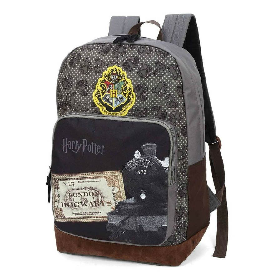 Mochila Costa Harry Potter Mapa Do Maroto Cinza Luxcel