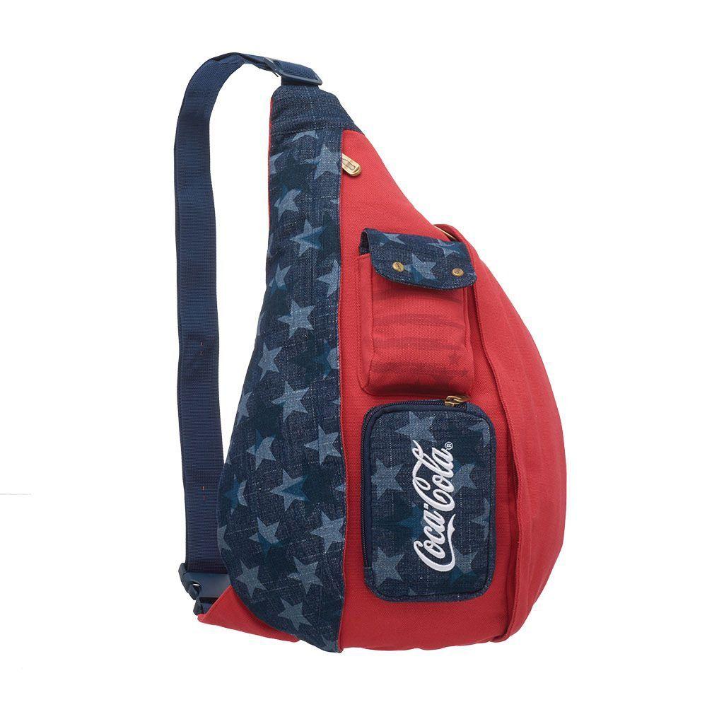 Mochila De Costas Coca-Cola American Flag U Pacific