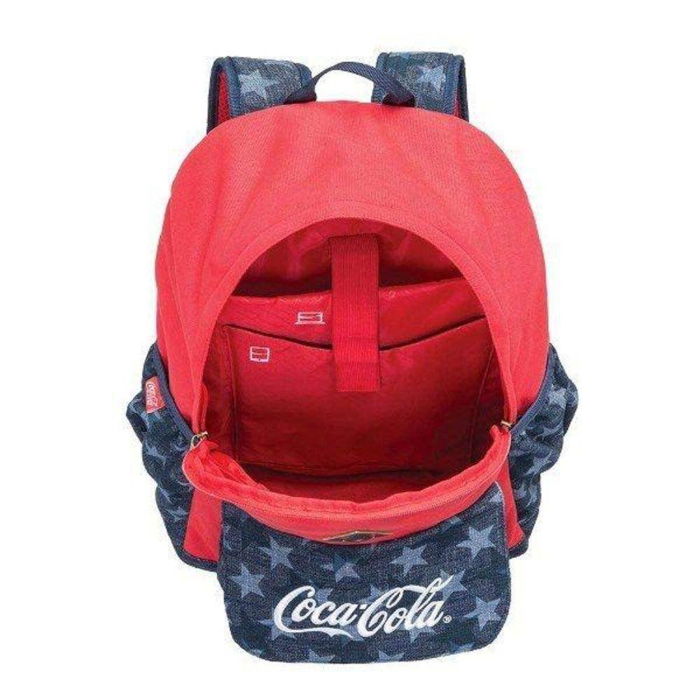 Mochila De Costas Juvenil Coca-Cola American Flag G