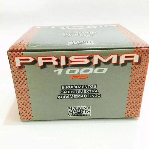Molinete Marine Sports Prisma 1000 Fd 5 Rol Rficção Dianteira