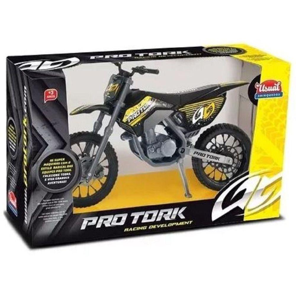 Moto Cross Pro Tork Usual Brinquedos