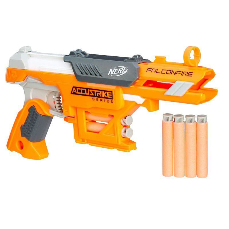 Nerf Lançador N-Strike Elite Accustrike Falconfire Hasbro